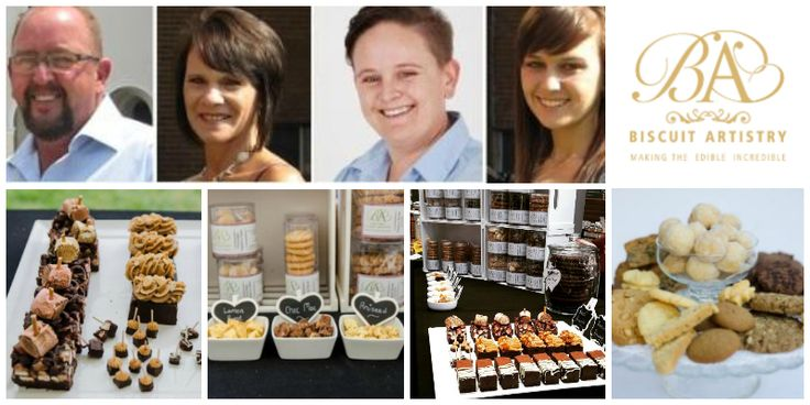The Henning Family, founders of Biscuit Artistry (South Africa)