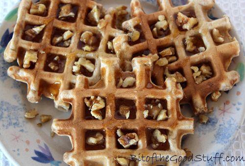 Easy Vegan Waffles and VonShef Waffle Maker UK Giveaway