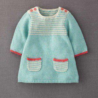 Kız Bebeklere Örgü Elbise Modelleri 127