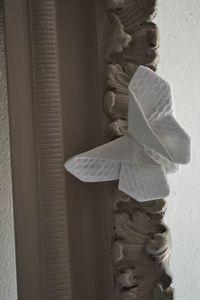 papillon en tissu pliage origami