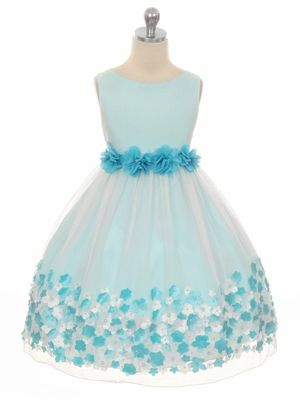#IDoBetseyBlue  #Sponsored Flower girl dress