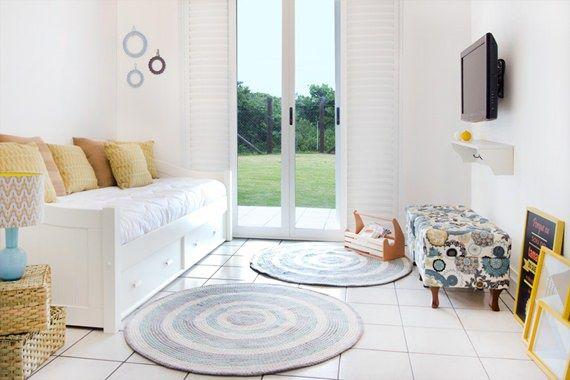 Sofá-cama, bicama e móveis práticos para receber