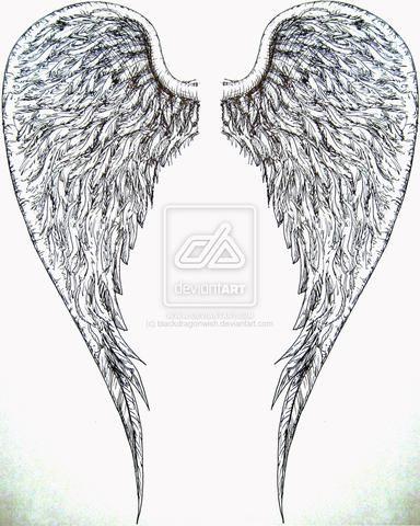 angel wings tattoo - Google Search