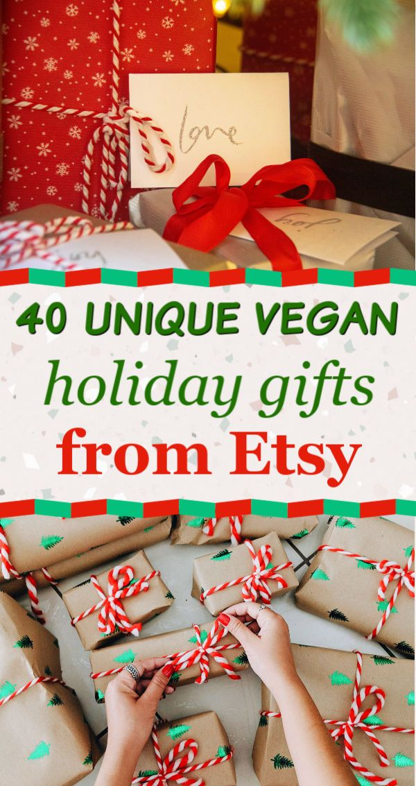 40 Unique Vegan Holiday Gifts From Etsy Best Personalized Christmas Gifts For Vegans Vegan Christmas Gifts Vegan Christmas Personalized Christmas Gifts