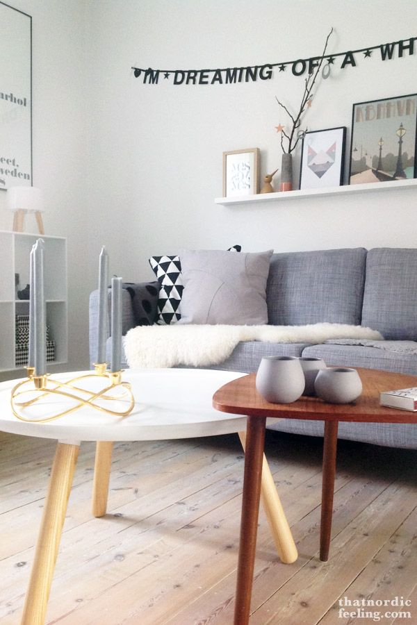 2. Advent: Give away with a Nordic twist | Flow pillow | by Lassen | via that nordic feeling