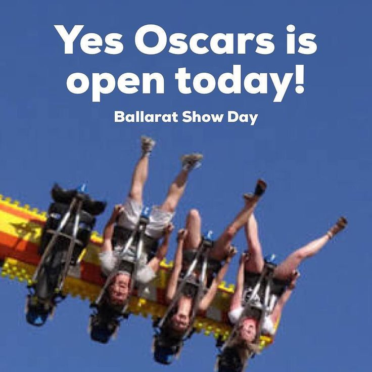 What a beautiful day for the Ballarat show public holiday today! Before you go fill up on fairy floss and lollies come and have a proper meal to get you through! We are open all day!  #ballarat #ballaratshow #beautifulday #enjoy