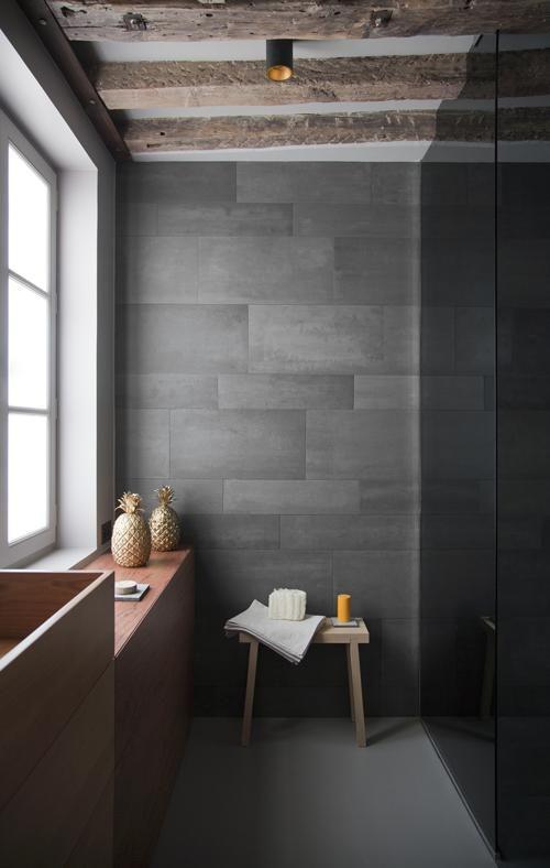 Oltre 25 fantastiche idee su doccia in pietra su pinterest - Piastrelle ardesia ...