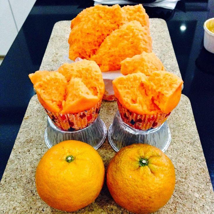Baking's Corner: Mandarin Orange Huat Kueh (橘子發糕) - by 페기양 (22/02/2...