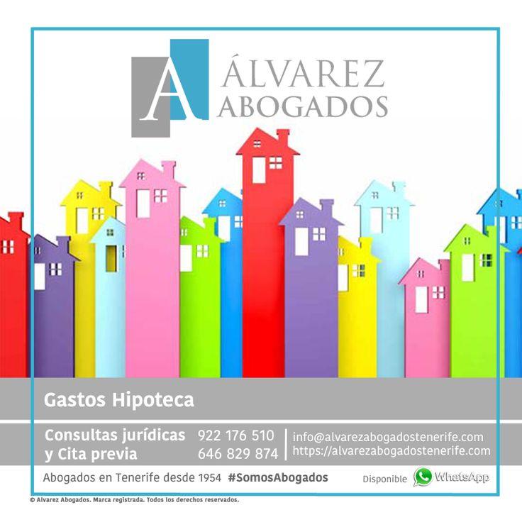 Si tiene o ha tenido hipoteca ¿Sabe que puede reclamar los gastos hipotecarios? Reclame los gastos de formalización de la hipoteca: gastos de notaría y gestora, gastos de tasación de la vivienda, registro de la propiedad y actos jurídicos documentados. https://alvarezabogadostenerife.com/?p=12206 #SomosAbogados #Abogados #Tenerife