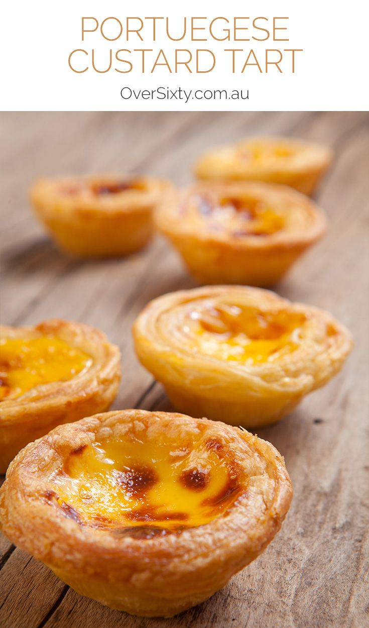 Portuguese Custard Tarts - these traditional Portuguese treats are sinfully delicious with a creamy custard filling you'll love. A great dessert with a difference.