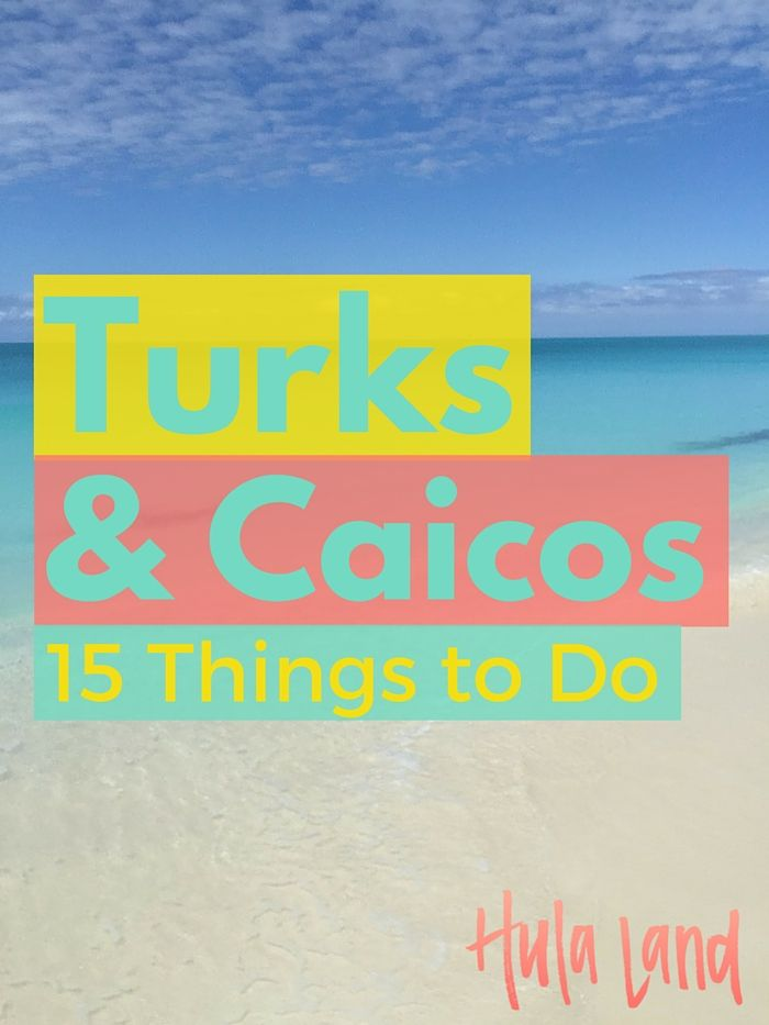 15 Things to Do in Turks and Caicos including snorkeling, paddleboarding, and horseback riding on the beach!