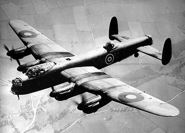 The Avro Lancaster, one of the workhorses of the RAF and RCAF during WWII.