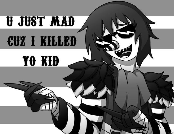 U just mad... by Samuel-Kingsley.deviantart.com on @DeviantArt