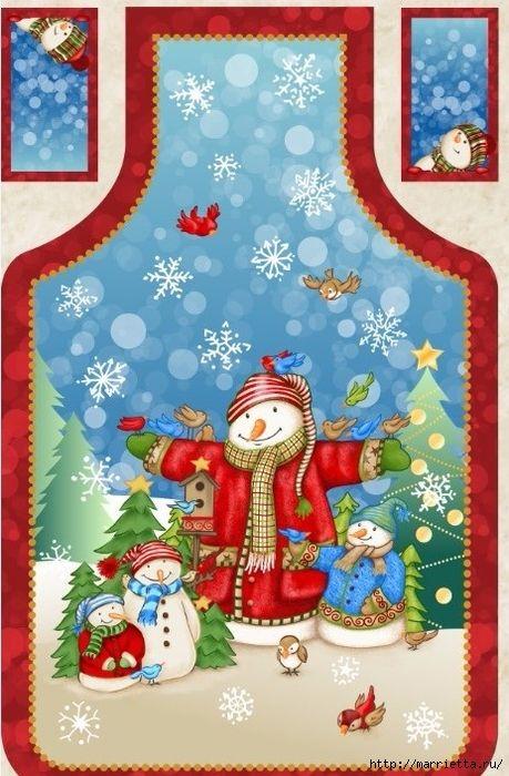 Картинки для декупажа. Новогодняя и рождественская тематика (14) (459x700, 288Kb)