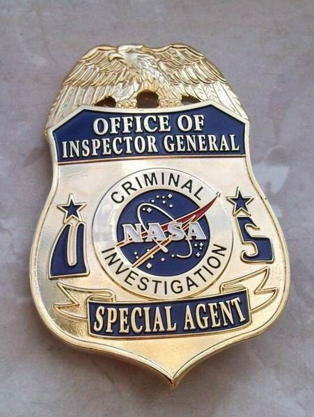 NASA Criminal Investigation Badge for sale | Police & Law Enforcement Discussions and Forums - PoliceLink