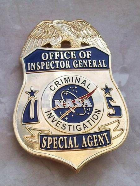 NASA Criminal Investigation Badge for sale | Police & Law Enforcement Discussions and Forums - PoliceLink