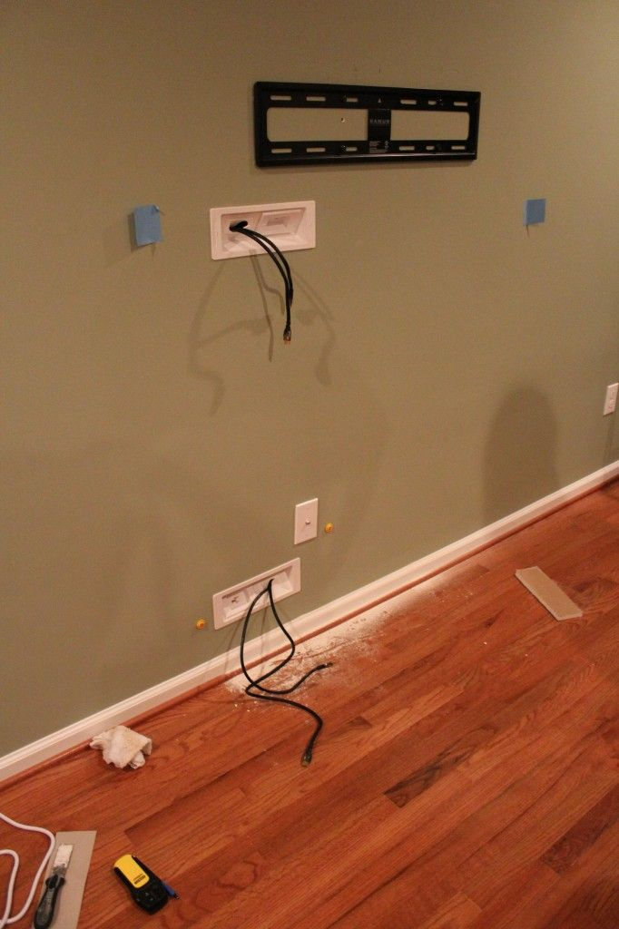 25+ best ideas about Hiding tv cords on wall on Pinterest | Hide ...