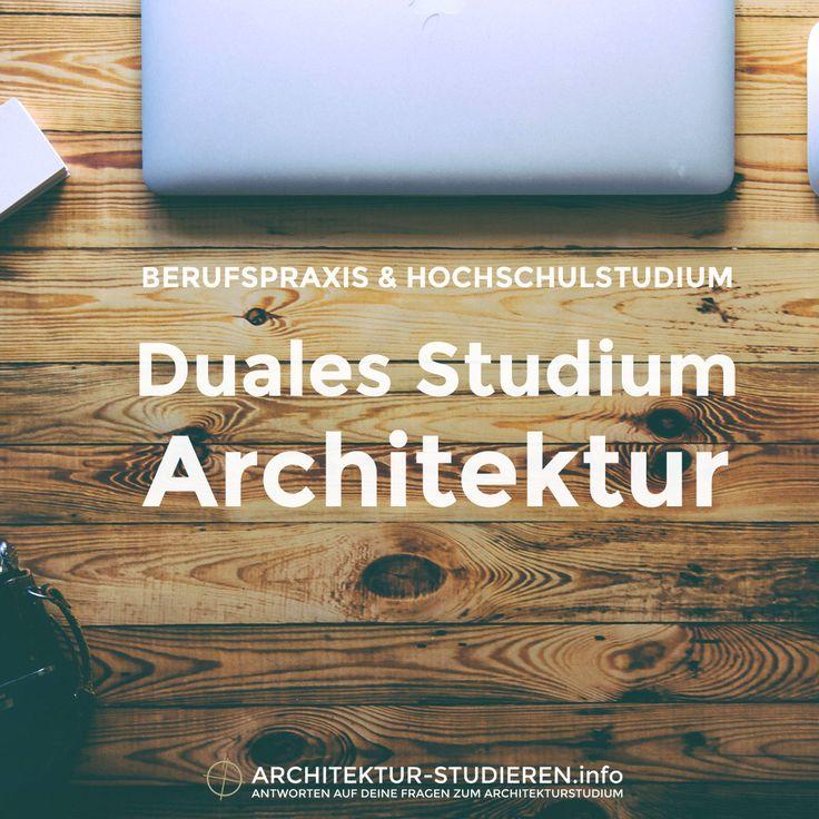 Alle Möglichkeiten für ein Duales #Architekturstudium (Bachelor) +++ http://www.architektur-studieren.info/tipps/duales-studium-architektur-bachelor/ +++ #Bachelor #Architektur #Studium #studieren