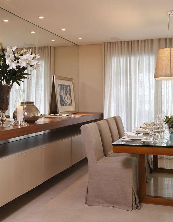 25 melhores ideias sobre buffet sala de jantar no for Arreglo de sala de casa