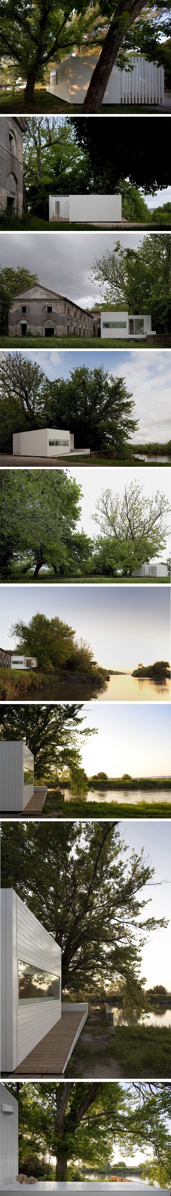 TreeHouse Riga by Appleton Architects. 2 units of 20sq mt each in Lisbon, Portugal