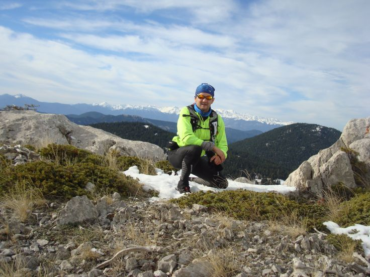 35km training run on Mount Parnassos