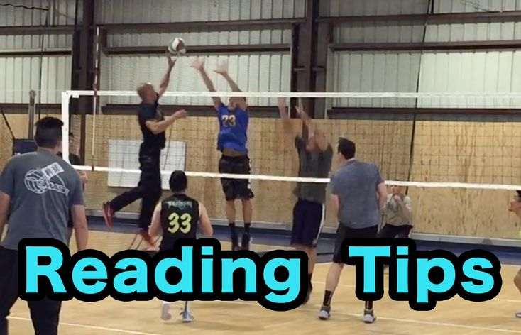 Reading Tips (How to READ hitters PART 2/2) - Volleyball Defense Tutorial