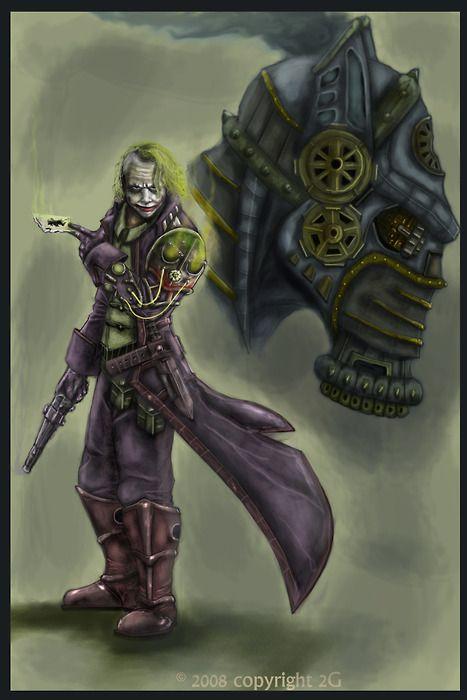 The Joker, steampunk style