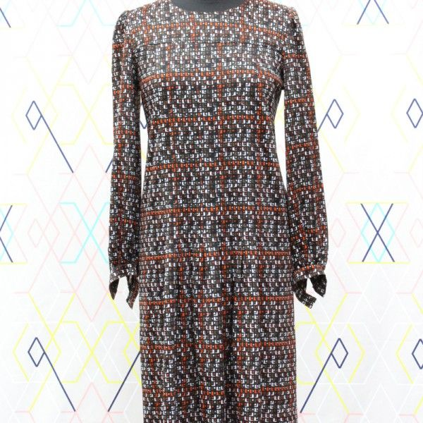 Brown Dress   devil wears vintage