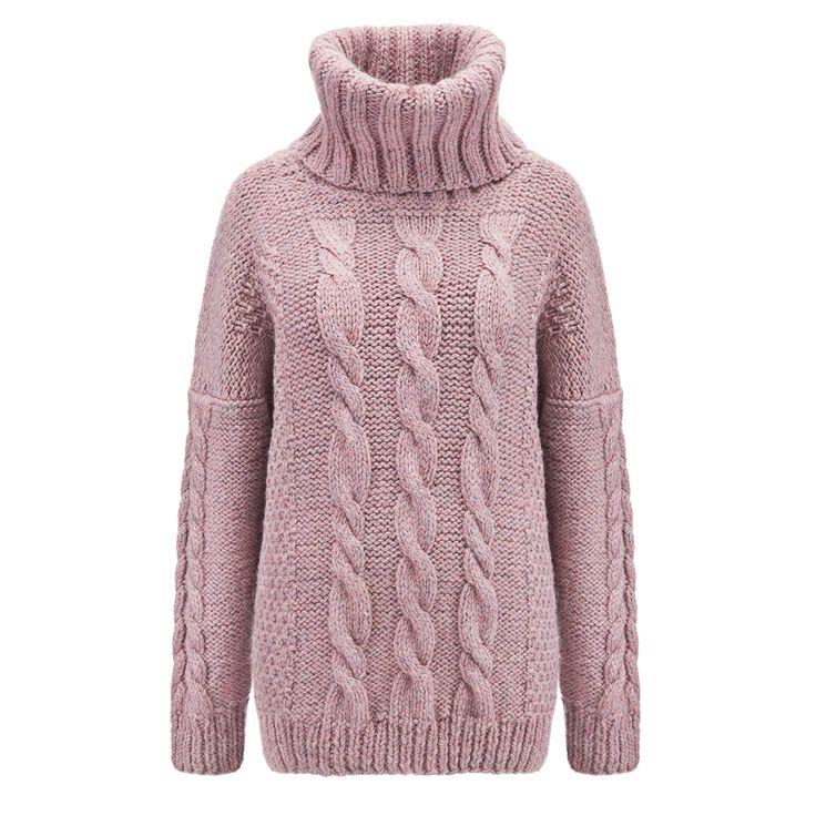 Karolina Scipniak / @karolina.scipniak #knitwear #knitweardesign #sweater #turtleneck #wool