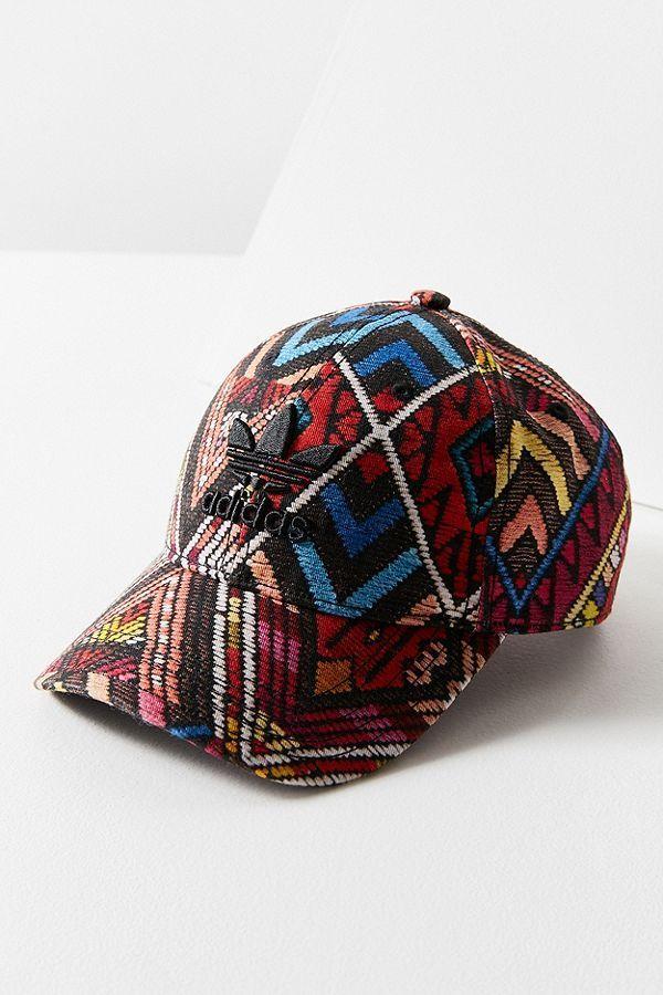 53b0f357d53e adidas Originals X The FARM Company Printed Baseball Hat in 2019 ...