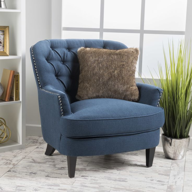 House of Hampton Greene Tufted Upholstered Linen Club Chair. 155 best Chairs images on Pinterest   Armchairs  Living room ideas