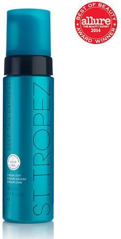 The best self tanner! St. Tropez Self Tan Express Bronzing Mousse 6.7oz