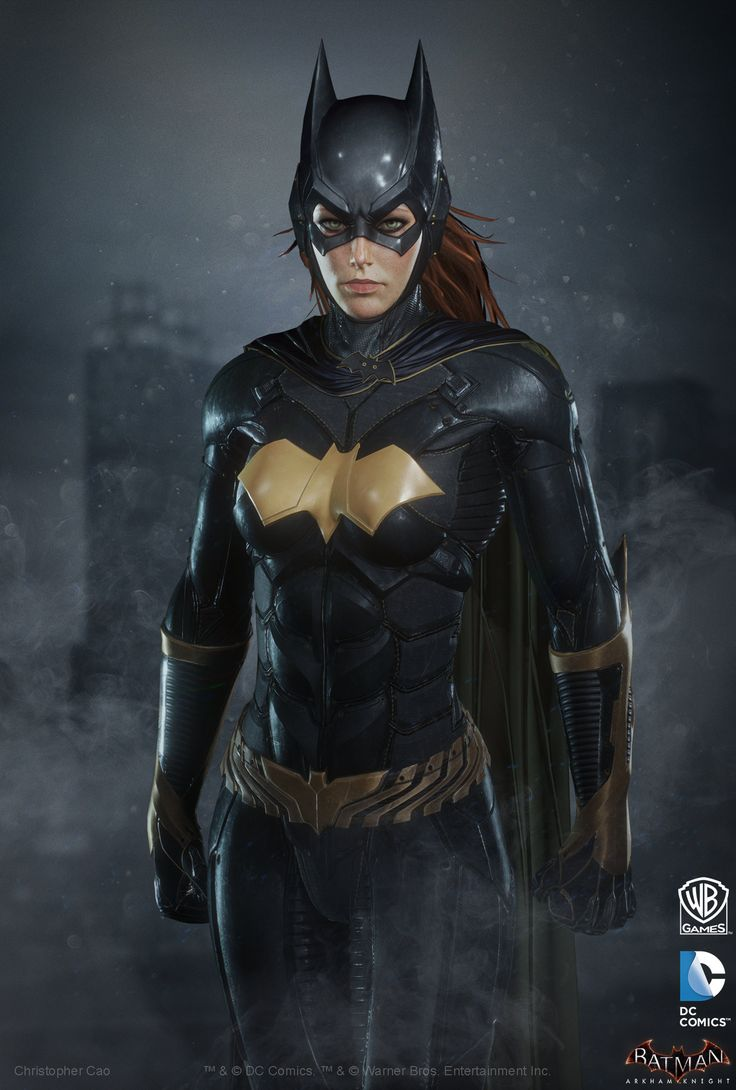 ArtStation - Batman: Arkham Knight DLC, Batgirl Render, Christopher Cao