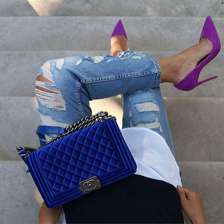 """My love for ripped jeans is endless   @liketoknow.it www.liketk.it/1NgFE #liketkit """