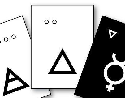 """Consulta este proyecto @Behance: """"The Three Essentials - Card Deck"""" https://www.behance.net/gallery/29285453/The-Three-Essentials-Card-Deck"""