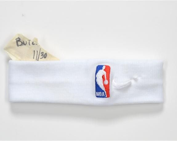 Jimmy Butler Philadelphia 76ers Game Used White Headband Vs
