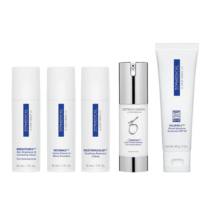 Designed by Zein Obagi, MD for the treatment of hyperpigmentation without the use of hydroquinone.