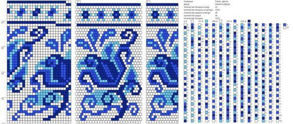 Схемы на 23-25 бисерин | 90 Bilder | VK