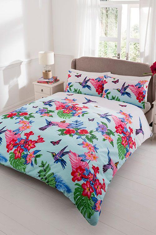 Hummingbird Double Duvet Set. Follow the link for further details/to purchase. http://www.klife.co.uk/distributors/91293/Eve-Ellwood?returnUrl=/klifeshop/home/bedroom/double-hummingbird-duvet-set/