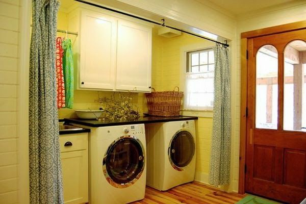 room divider curtains: room divider curtain separate laundry room