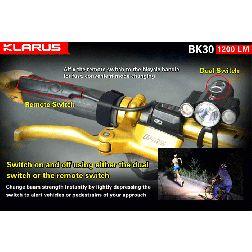 Klarus BK30 LED Bike Light - 1200 Lumens