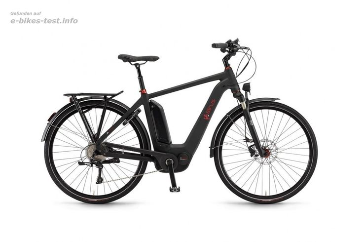 Sinus Ebike Fahrrad Ena10 Herren 500Wh 28 Zoll 10-G XT schwarz matt