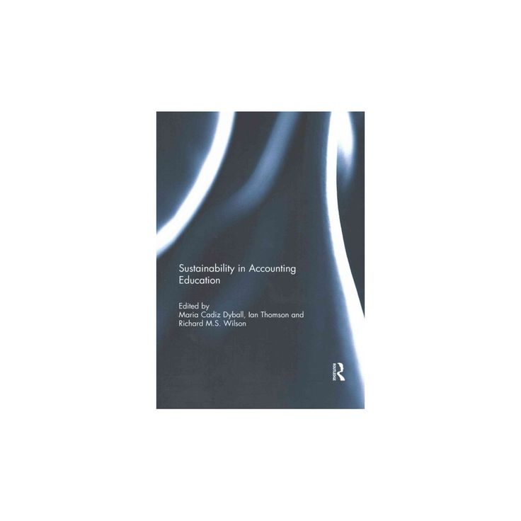 Sustainability in Accounting Education (Reprint) (Paperback)