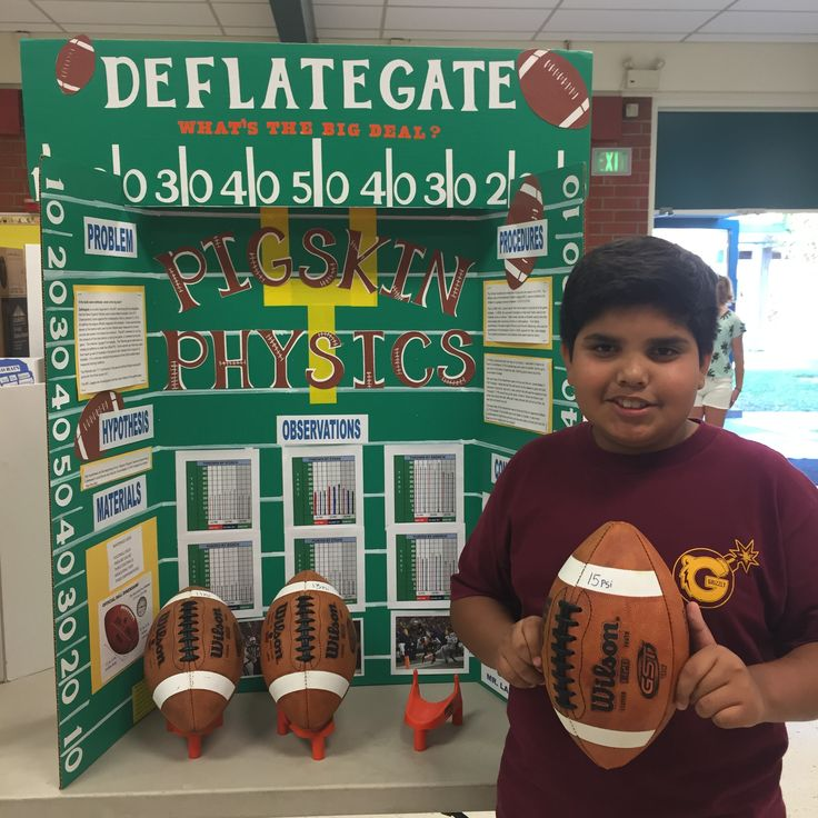 Deflategate What's the big deal? Ethan had 3 footballs 11 PSI, 13 PSI and 15 PSI.  Three boys the same age threw and punted the balls. He wanted to see if the size of a  deflated football really mattered. Since 13 PSI is the size NFL requires for game day!
