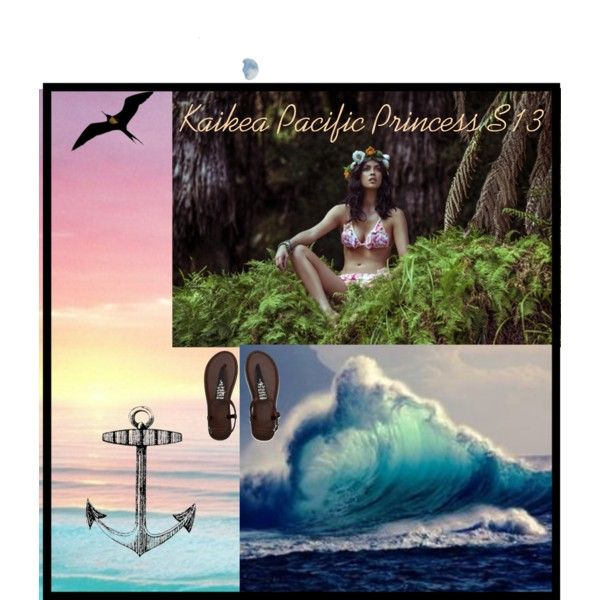 """""""Kaikea Pacific Princess"""" by freesiabell on Polyvore"""