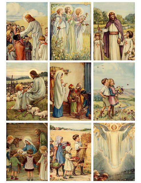 Jodie Lee Designs: Free Printable! Stories of Jesus Illustrations
