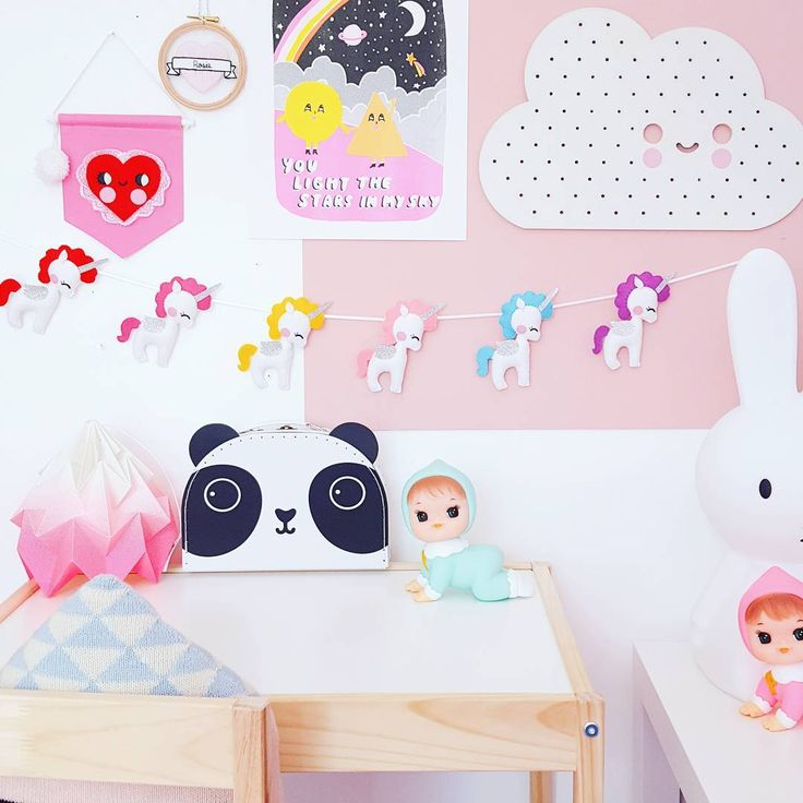 """69 Likes, 9 Comments - J e s s • Noodle doll Nelly • (@noodledollnelly) on Instagram: """"🦄💘❤ Have a super day! #noodledollnelly #kids #kidsdecor #kidsdesign #interior4kids #supercute…"""""""