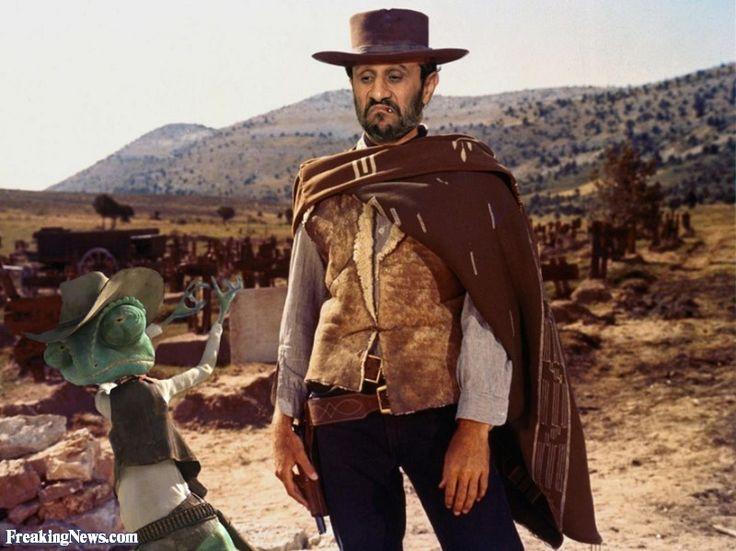 Mahmoud Ahmadinejad Cowboy