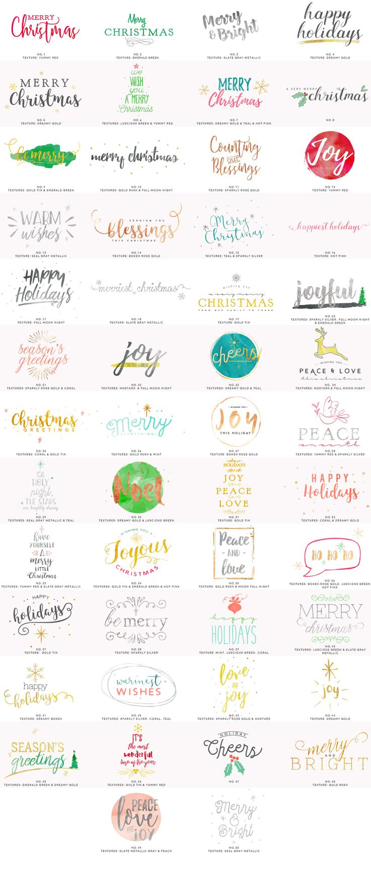 Design your own Christmas Cards by 7th Avenue Designs on @creativemarket
