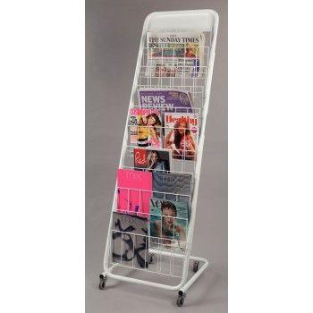 Mobile Newspaper and Magazine Displayer - Newspaper & Magazine Displayers - Display